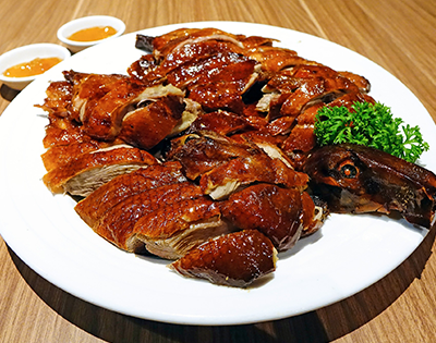 Roast Duck Chinese Style
